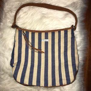 Handbags - 💙Cute Striped Roxy bag 💙